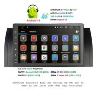 Android 10.0 4G Car GPS PLAYER For BMW X5 E53 E39 GPS stereo audio navigation multimedia screen head unit USB