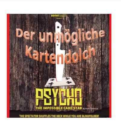 Psycho от Iñaki Zabaletta и Vernet magic tricks