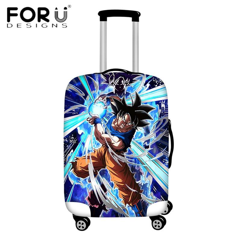 FORUDESIGNS/Дорожный эластичный Чехол для багажа Saiyan Goku Vegeta, защитный чехол для чемодана 18-32 дюймов - Цвет: HMA155