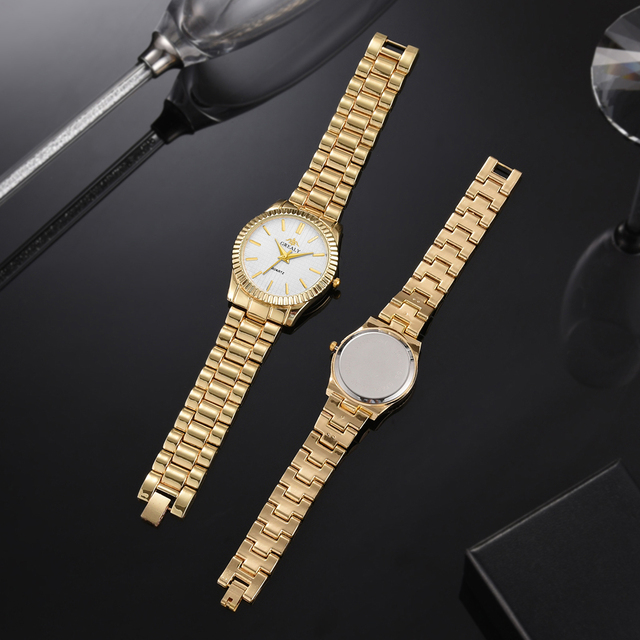Couple Mens Women Watches Top Brand Luxury Quartz Ladies Wristwatch 6