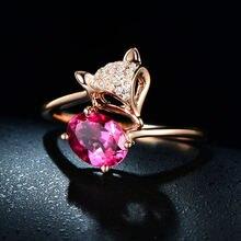 Женское кольцо из серебра 925 пробы с натуральным овальным Рубином