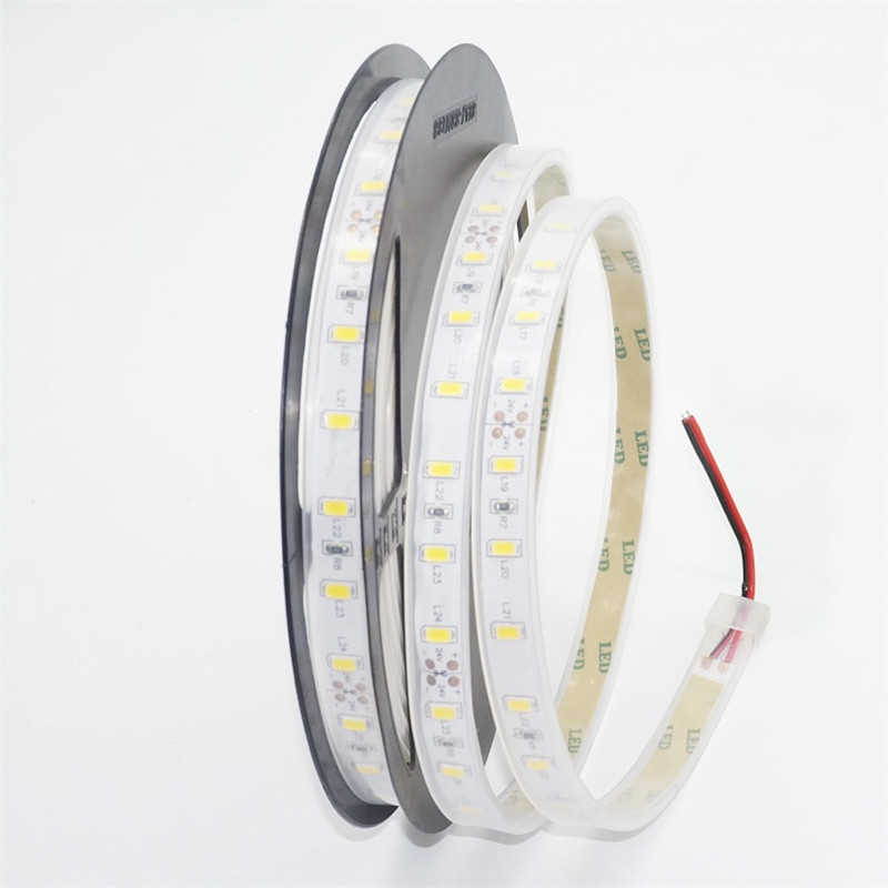 5 м/рулон 24VDC 5630 300 Диодная Светодиодная лента, 10 мм ширина 12 см резка 14 Вт на метр линейный ленточный светильник, открытый IP67 водонепроницаемый гибкий светильник