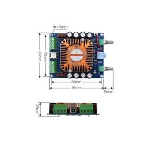 Image 4 - XH A372 TDA7850 Vier Kanal 50W * 4 HIFI Auto stereo Audio Verstärker Bord subwoofer verstärker Bass AMP Heimkino
