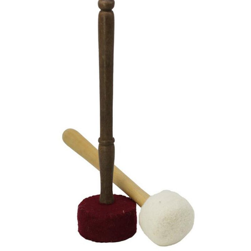 HOT Religion Mallet Stick Tibetan Buddhist Therapy Dharma Chanting Sound Copper Nepalese Meditation Monks Decor Singing Bowl