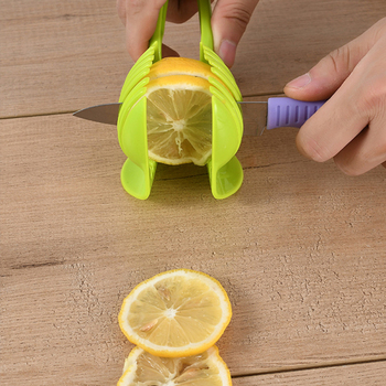 VOGVIGO Handheld Kitchenware Tomato Slicer Bread Clip Fruit and Vegetable Cut Potato Apple Creative Gadget Kitchen Accessories 3