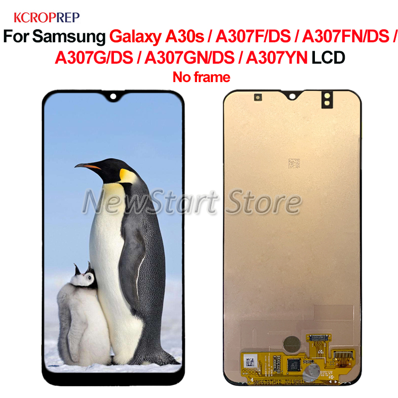 For <font><b>Samsung</b></font> <font><b>Galaxy</b></font> <font><b>A30s</b></font> <font><b>LCD</b></font> Display Touch Screen Digitizer Assembly For <font><b>Samsung</b></font> A307F/DS A307FN/DS A307G/DS A307GN/DS A307YN <font><b>lcd</b></font> image