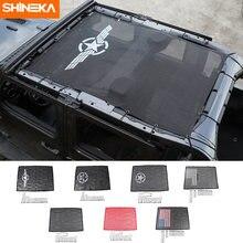 Shineka автомобильный чехол для jeep wrangler jl аксессуары