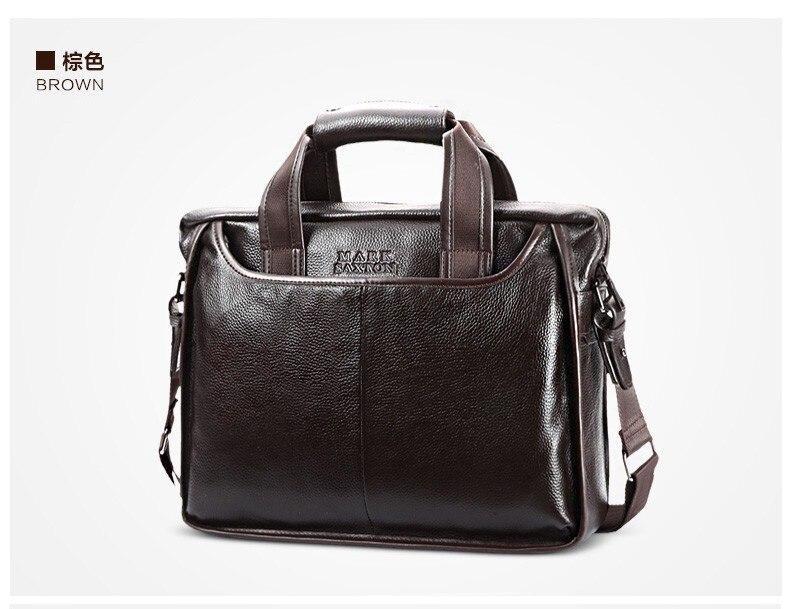 H9b3eb5f2e6994daf8db31b96ff33c957e 2019 New Fashion cowhide male commercial briefcase /Real Leather vintage men's messenger bag/casual Natural Cowskin Business bag