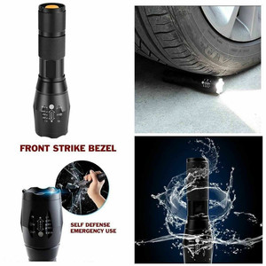 Image 2 - LED Rechargeable Flashlight Abay XML T6 linterna torch 18650 Battery 5 Modes Waterproof Outdoor Camping Powerful Led Flashlight