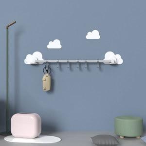 Image 4 - Nuage lien crochet pour cuisine chambre salle de bain reçoit sans trace crochet transparent sans poinçonnage nuage lien crochet pour cuisine