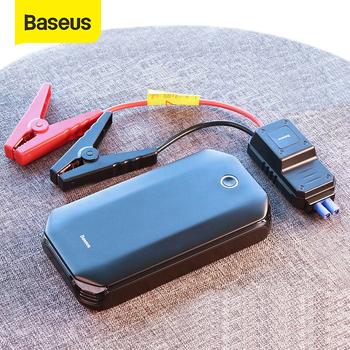 Baseus-Prostownik urządzenie rozruchowe do samochodu booster akumulator rozruchowy awaria Powerbank 800A tanie i dobre opinie 8000-10 000 800 A 85 ~ 90 Rohs CN (pochodzenie) 12 v 770g Oświetlenie światło ostrzegawcze Oświetlenie SOS Brak 8000mAh 3 7V 29 6Wh