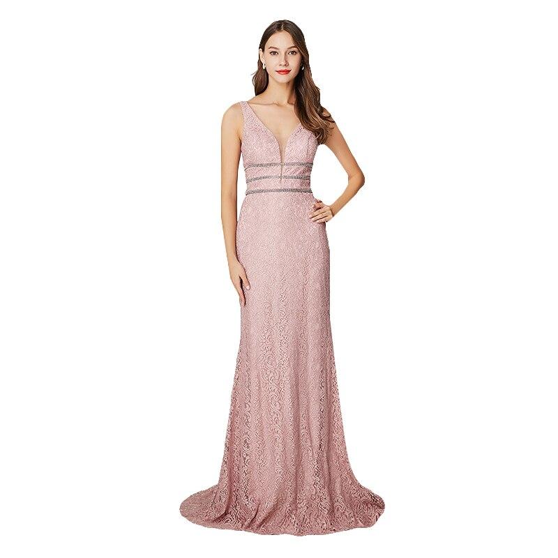 Women 39 S Formal Evening Dresses Long Summer Long Evening Dress Ladies Elegant Sexy Lace Robe De Soiree Long Evening Dress 2019 in Evening Dresses from Weddings amp Events