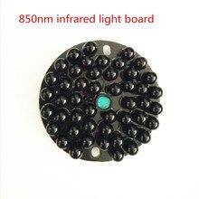 48 LED IR Light Board 850nm Infrared Light Board Illuminator Plate For CCTV Security Camera Black bead customized angle optional