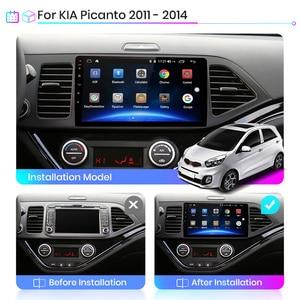 Image 2 - Junsun V1 4G + 64G CarPlay אנדרואיד 10 DSP עבור Kia Picanto 2011   2014 רכב רדיו מולטימדיה וידאו נגן GPS RDS 2 דין dvd