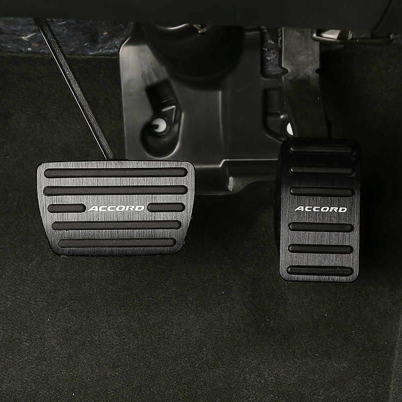 De aleación de aluminio de acelerador pedal de freno embrague pedal modificación decoración para Honda Accord 10 2018 de 2019