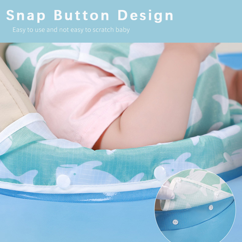 Baby High Chair Cover Portable Children Eating Table Mat Waterproof Feeding Saucer For Kids Anti-dirty Bib Feeding Accessories