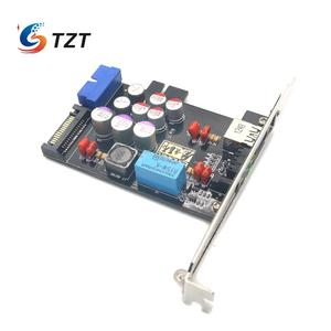 Image 3 - TZT Elfidelity AXF 100 USB כוח מסנן USB מחשב פנימי HiFi עבור אודיו שדרוג DIY