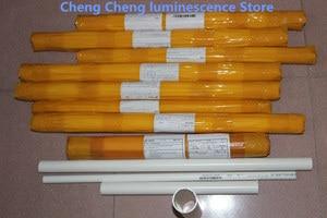 Image 5 - 10PCS/lot  FOR Changhong 49 inch LCD TV backlight strip use LB C490F14 E4 L G1 DL1 49D2000 LB49006  C490F15 E2 L 10LED=97CM  3V