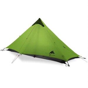 Image 3 - 3F UL GETRIEBE LanShan 1 Outdoor Ultraleicht Camping Zelt 1 Person 3 Saison Professionelle 15D Silnylon LanShan1 Kolbenstangenlosen Zelt