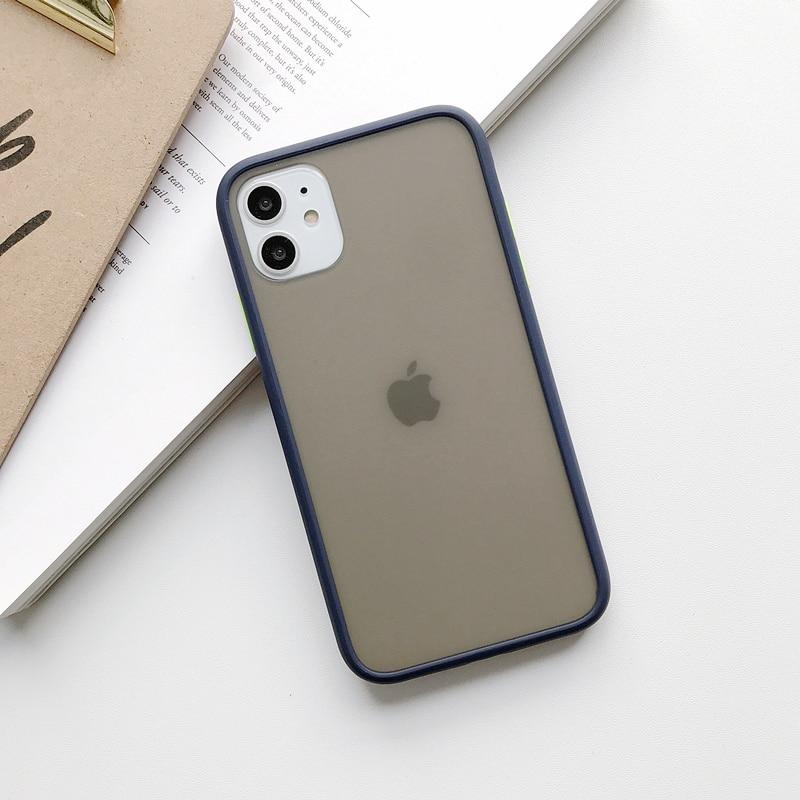 Mint Hybrid Case for iPhone SE (2020) 54