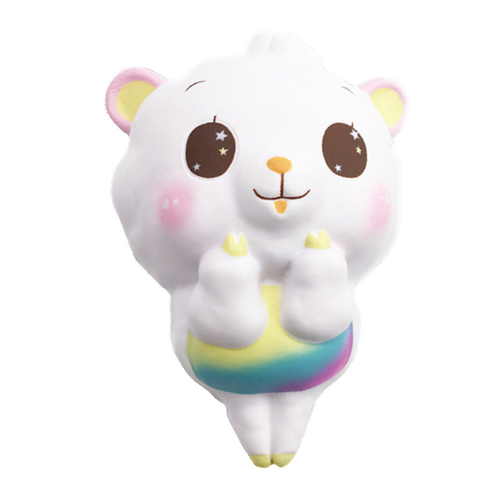Cute Cartoon Sheep Toys  Simulation Soft Slow Rising Squeeze Toy Stress Relief Novelty Fun Toys Gift For Children #B