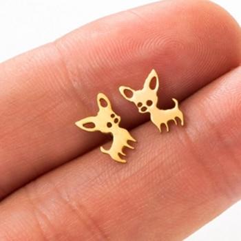 Dog Earrings  1