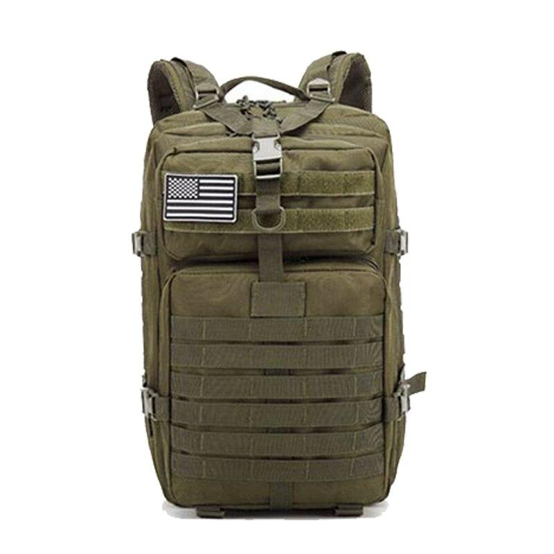 Sac à dos tactique militaire pour hommes 45L sac d'assaut militaire de grande capacité sac d'alpinisme en plein air randonnée camping sac de chasse