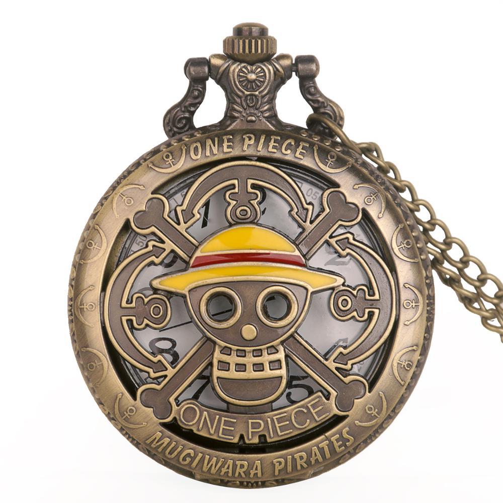 New Arrivals Vintage One Piece Quartz Pocket Watch Chain Pendant Necklace Reloj De Bolsillo Men Women Gift Drop Shipping