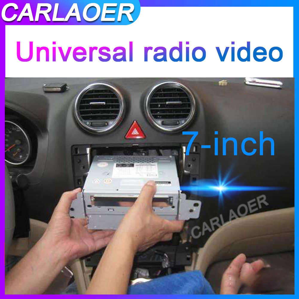 Auto Android multimedia Universele 7-inch radio installatie video tutorial, deze video is voor leren alleen