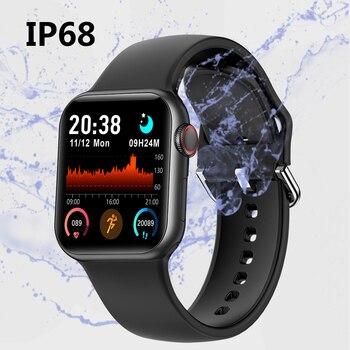 LEMFO Iwo mini PK DT100 PLUS W37 Smart Watch Men Women IP68 Waterproof Health Monitoring H13B Smartwatch 2021 For Apple Iwo W26 3