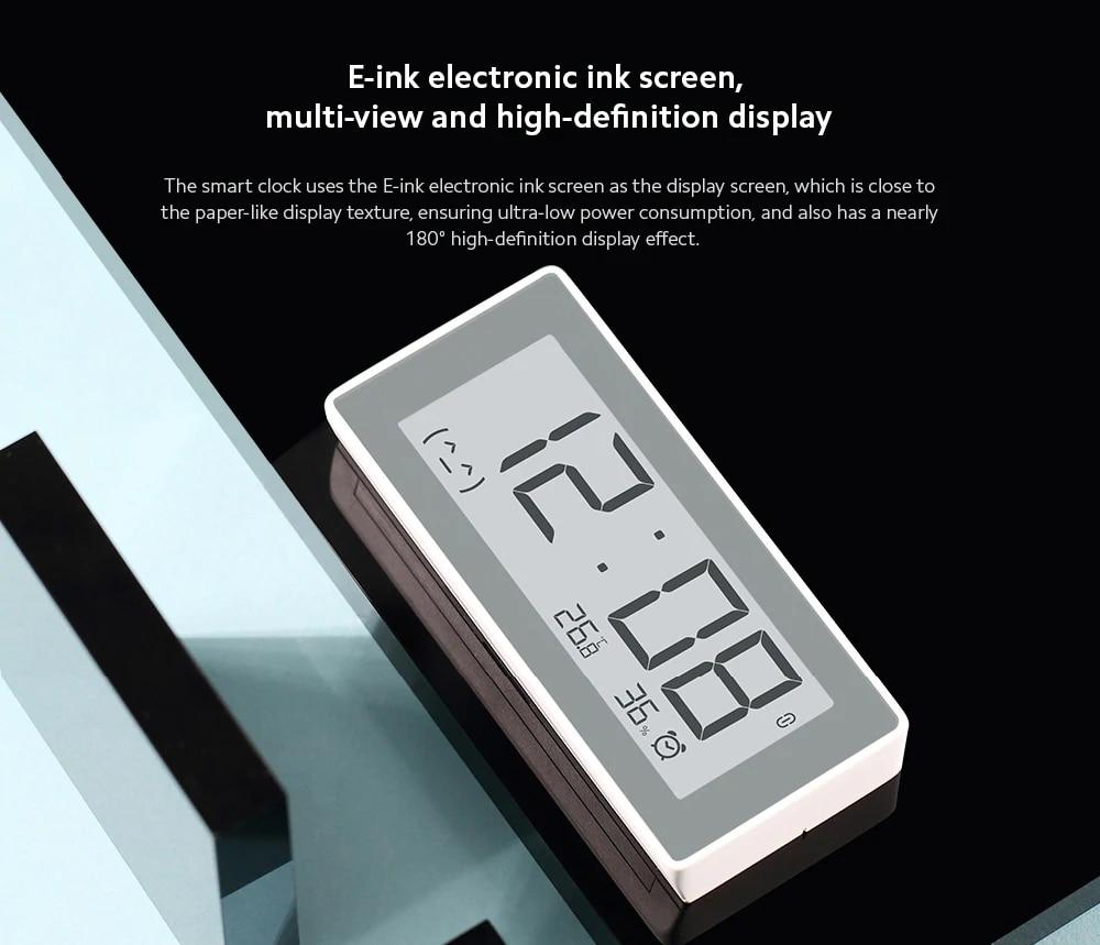 Original MiaoMiaoCe E-Link INK LCD Screen Digital clock Moisture Meter BT4.0 High-Precision Thermometer Temperature Humidity Sensor (18)