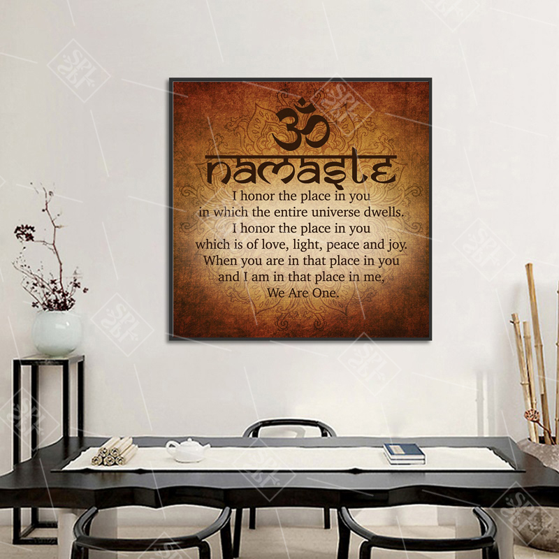 Namaste-Art-Calligraphy-Canvas-Painting-Modern-Wall-Art-Print-Picture-Meditation-Buddha-Painting-Bedroom-Decoration-Posters (2)
