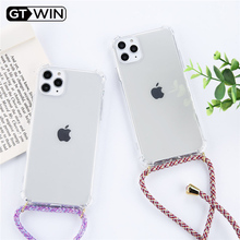 Strap Cord Chain Phone Tape Necklace Lanyard Mobile Phone Case for Carry