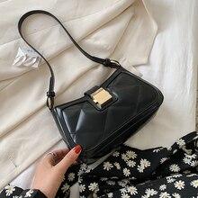 Небольшой искусственная кожа сумка подмышку для женщин 2020 роскошный плечо сумки покроя сумки кроссбоди мешок дизайн креста тела сумка
