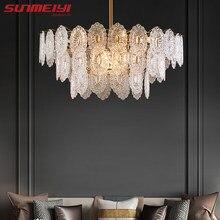 Plafonnier Led suspendu au design luxueux, éclairage d'intérieur, luminaire décoratif de plafond, idéal pour un salon, une salle à manger, une cuisine ou une chambre à coucher