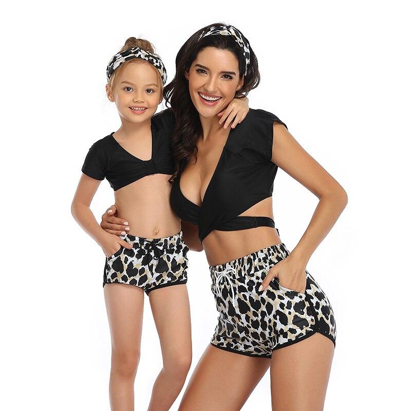 3Pcs Women Tankini Sets Sporty with Boy Shorts Bikini Swimming Bathing Swimwear