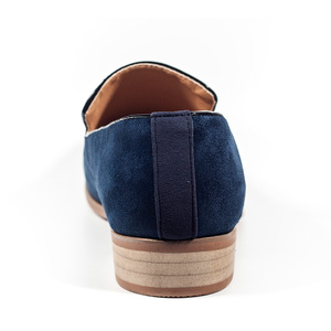 Image 5 - حذاء رجالي جديد موضة 2018 من جلد الغزال بدون كعب حذاء أكسفورد للرجال غير رسمي حذاء رجالي بمقدمة مدببة