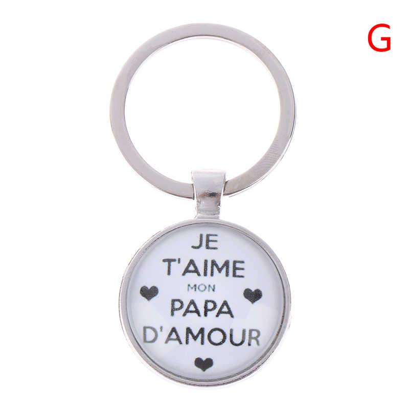 סופר אבא Keychain משפחה חבר מתנות לגברים יום אב סדרת אתה את הטוב ביותר אבא רכב מפתח שרשרת טבעת אבזרים
