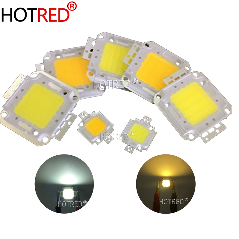 LED COB Chip 10W 20W 30W 50W 100W Warm White Pure White Light For DIY 10W 20W 30W 50W 100W High Power LED Flood Light Spotlight