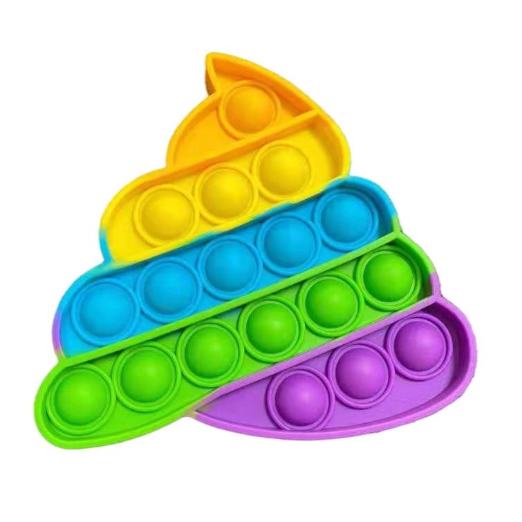 Toys Adult Fidget-Toy-Box Reliver Pop It Bubble-Sensory Figet Anti-Stress Squishy Push img2