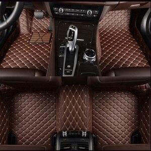 Image 3 - Kalaisike niestandardowe dywaniki samochodowe dla Cadillac wszystkie modele SRX CTS Escalade ATS CT6 XT5 CT6 ATSL XTS SLS akcesoria samochodowe stylizacja