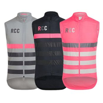 RCC wysokiej jakości kamizelka rowerowa wiatr jazda kamizelka koszulka bez rękawów wiatroszczelne kurtki rowerowe rower wiatr ubrania tanie i dobre opinie Poliester Oddychająca Szybkie suche Wiatroszczelna Skręcić w dół kołnierz Jazda na rowerze Pasuje prawda na wymiar weź swój normalny rozmiar