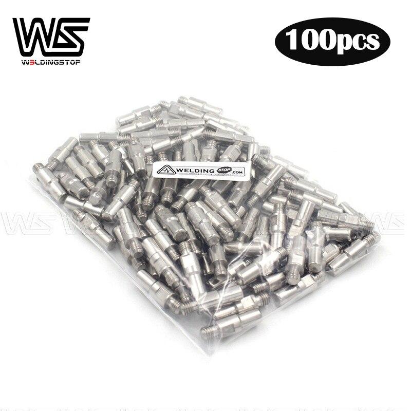 100pcs PR0110 electrode fit Plasma cutter Torch trafimet S45 S25 S35 IPT-40 PT40 IPT-60 PT60