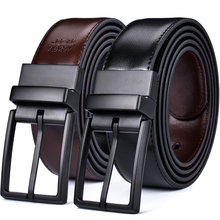 Mens Belt, Reversible Leather Belts for Men, Rotated Buckles, Dress and Casual, Classic & Fashion Designs Man