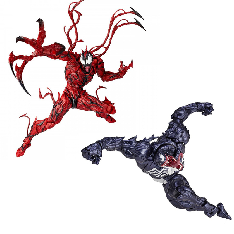 16cm Marvel Venom Joint Movable Action Figure PVC Toys Collection Doll Anime Cartoon Model