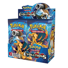 324pcs Cards Pokemon TCG: XY Evolutions Sealed Booster Box Trading Card Game Kids Collection Toys стоимость