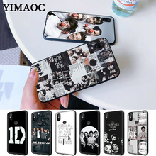 One Direction High-end Protector Silicone Case for Redmi Note 4X 5 Pro 6 5A Prime 7 8