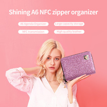 Bags Notebook-Card for Women Pink Sequins Zipper Casual Tote Female Handbag Multifunctional