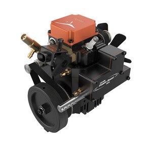 Toyan четырехтактный бензиновый модельный двигатель с водяным охлаждением и стартовым двигателем для 1:10, 1:12, 1:14, RC, автомобиль, лодка, самолет-(...
