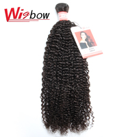Wigbow OneCut Hair Brazilian Kinky Curly 8 30 Inch P 1 Bundle Hair Extensions 100% Human Hair Weave Bundles For Black Women